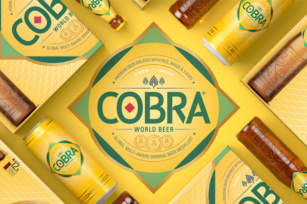 Cobra Beer launches new brand identity