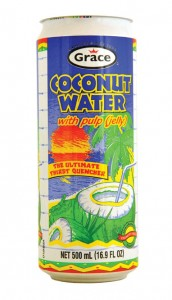 Coconut water can